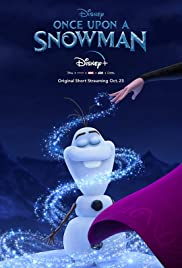 Once Upon a Snowman (2020)Olaf's first steps as he comes to life and searches for his identity in the snowy mountains outside Arendelle.